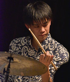 Kunito Kitai (ds). Photo: courtesy of Sosuke Akahane